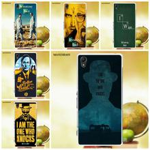 Matcheasy Soft Mobile Phone Case Cover Tv Series Breaking Bad For Sony Xperia Z Z1 Z2 Z3 Z4 Z5 compact Mini M2 M4 M5 T3 E3 XA(China)
