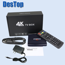 Genuine A95X R1 S905W Android 7.1 tv box media player 1GB RAM 8GB ROM set top box(China)