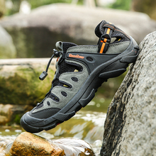 2017   Men Upstream Shoes   Water Aqua Shoes Outdoor Shoes   for Beach River trekking shoes, water skiing shoes1688