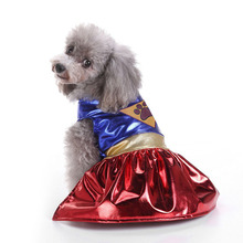 Buy Superman Dressing-up Dog Clothes Small Dogs Dress Winter Warm Pet Costume Puppy Yorkshire Chihuahua Clothing Apparel for $5.92 in AliExpress store