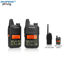 Original BAOFENG MINI Two Way Radio BF-T1 Walkie Talkie UHF 400-470mhz 20CH Handheld Transceiver Hotel civilian