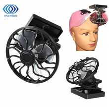 1Pcs Newest Solar Cell Fan Sun Power Energy Panel Clip-on Cooling Hat High Quality Cooler For Camping Hiking(China)