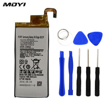 2017 New 100% MOYI Original Mobile Phone Battery Just For Samsung Galaxy S6 Edge G920F G925F G9250 Replacement Battery With Gift(China)