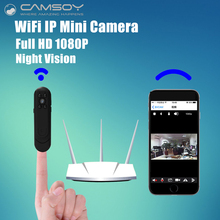Wifi IP Mini Camera Pocket 1080P 720P HD Pen Camera Wide Angle 140 Degree Voice Video Recorder P2P Mini DV DVR Camcorder Kamera