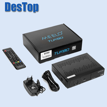 Newest Smart TV BOX MEELO TURBO 1080P FULL HD DVB-S2&T2&C Linux OS Media Player Satellite receiver BCM 73625 10pcs