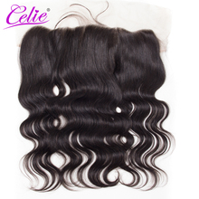 Celie Hair Lace Frontal Brazilian Body Wave  13*4 Ear To Ear Lace Frontal With Baby Hair 100% Remy Human Hair Frontal