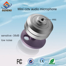 SIZHENG cctv audio monitoring high sensitive -38db mini security camera microphone for ip camera
