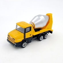 Children Die-cast & ABS Car Model Children Toys Engineering Vehicle Mini junji cement mixer rotary alloy Truck models