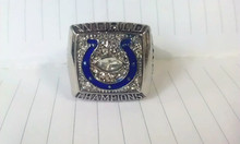 Free shipping Best 2006 Indianapolis Colts Super Bowl Championship Ring size 11(China)