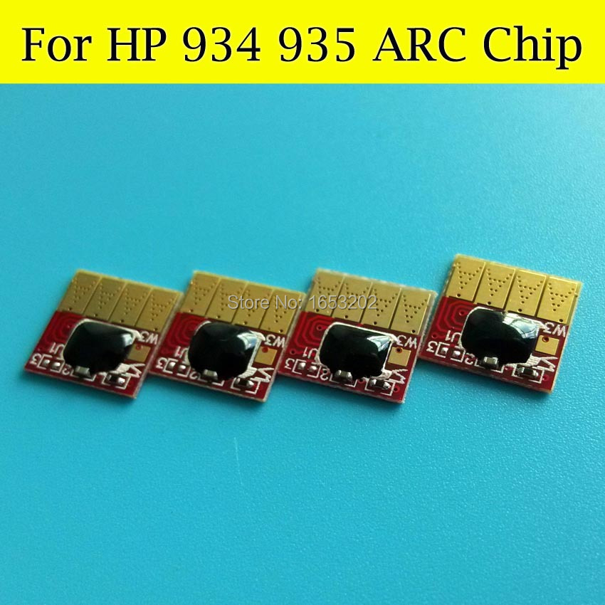 4 Pieces High Quality Cartridge Auto Reset Chip FOR HP 934XL 935XL HP934 Use For HP Officejet 6830 6230 6835 Printer<br><br>Aliexpress