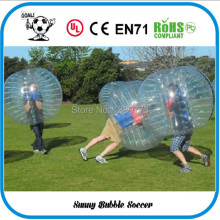 2015 New Arrival,1.5m Size Inflatable Human Hamster Ball ,Bubble Ball Suit For Fun, Buy More, Get Good Discount(China)