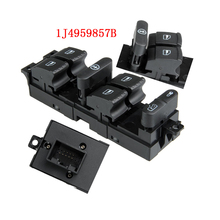 Master Power Window Lifter Switch Diver Side For VW GOLF PASSAT JETTA BORA A4 1J4959857B(China)