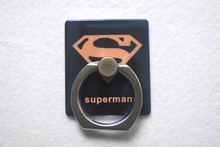 NEW Universal Ring font b Stands b font With Hook Orange Superman Pattern Magic Blu ray