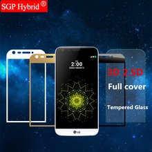 2.5D / 3D Cover Tempered Glass Shell Phone Protector For Lg K8 K10 2017 K7 Dual G5 G 5 SE 6 G6 K 8 10 Protective Film Case capa(China)
