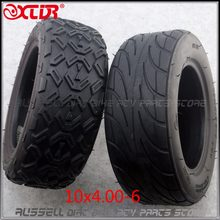 10x4. 00-6 10*4,00-6 бескамерная вакуумная шина для Harley Electric Citycoco Scooter Go karts ATV Quad bike OFF-Road(China)