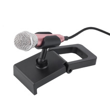 Best quality New 1pcs Mini 3.5mm Wired Microphone for Mobile Phone Tablet PC Laptop Speech Sing 4 Color Newest(China)