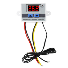 Buy W3001 Digital LED control switch temperature thermometer thermo controller probe 220v heat cool temp thermostat 40% for $4.99 in AliExpress store