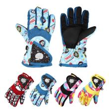 kids thickness themal fleece children Skiing Glove winter autumn child warm ski gloves cycling cotton windproof kids glove C1