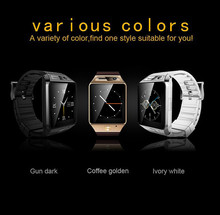 SmartWatch GV08S SIM Card Smart Watch For Men/Women 4 Colors Bluetooth 3.0 Compatible With All Smart Mobile phones 2.0M Camera