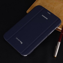 "Free Shipping Smart Business PU Leather Cover Book Slim Folding Stand Case for Samsung Galaxy Note N5100 N5110 8.0"" Tablet Case"