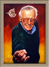 Exquisite heavy color STAN LEE-LARGE HD Print Oil Painting Wall painting Wall Art Picture For Living Room painting no frame(China)