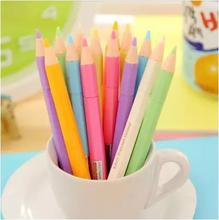 2017 Woman Stationery Art Marker Baby Drawing / Fluorescence Draw Pen Students School Supplier 14pcs/lot Arc966
