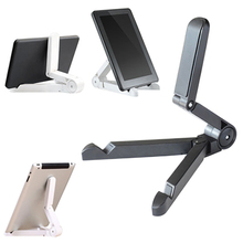 Foldable Adjustable Angle Bracket Stand Mount Tablet PC Mobile Phone Holder Less Than 10 Inch Plastic Charger