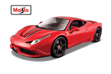Maisto Bburago 1:18 Signature Series 458 SPECIALE Diecast Model Car Toy New In Box Free Shipping