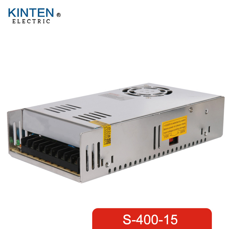 400W 15V 27A Single Output Switching power supply smps AC to DC LED<br>
