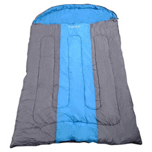 1 Pc From US Delivery Outdoor 2 Person Sleeping Bag Hiking Camping Envelope Lovers Sleeping Bag(China)