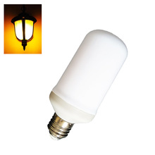5W LED Lamp Bulb E27 Flame Dimmable LED Light Bulb Flickering Breathing General Lighting Modes 1300K AC110-240V(China)