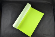 (0.5x5M) Neon Yellow 2.5 Square Meter of High Quality PU Heat Transfer Vinyl PU Film for T-shirts Iron on Vinyl NY612(China)