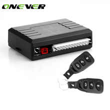 Onever Car Alarm Systems Auto Remote Central Kit Universal Car Remote Central Locking Control Door Keyless Entry System(China)