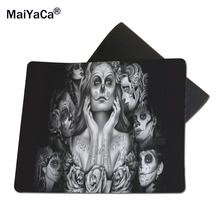 MaiYaCa Download Skull Gaming Mouse Pad Size 18*22cm and 25*29cm(China)