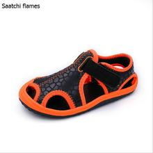 Children's shoes new arrivals outdoor beach child boys sandals zapatillas shoes easy flat with fashion kids sandals for girls(China)