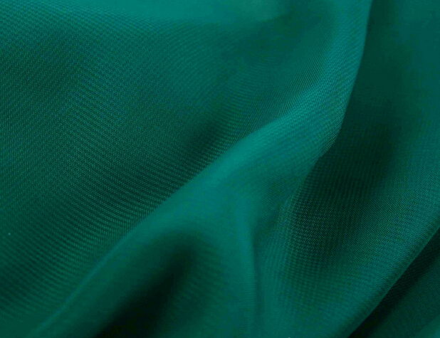 "3 meters 150cm 59"" width dark green gauze georgette chiffon fabric for summer dress skirt blouse curtains MM160(China)"