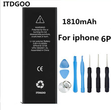 1810mAh Replacement For Apple iPhone 6 battery iPhone6 for Apple 6 battery iphone 6g 4.7 inch