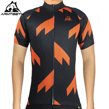 Armteeh 2017 Sawtooth Print Mens cycling Pro Jersey Racing Bike Ropa Ciclismo Sportswear Mtb Tops Bicycle Cycling Clothing 4XL(China)