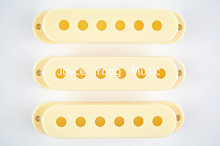 Niko Aged White Single Coil Pick up Covers For Fender Strat Style Electric Guitar Free Shipping Wholesales(China)