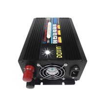 2000w peak power inverter dc12v to ac 220v/230v 1000W UPS power inverter with charger battery(China)