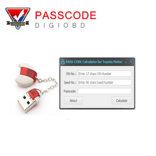 Newest Version PASS-CODE Calculator Scion Auto Key Programmer for Toyota Lexus passcode Original Development Pass code Tool