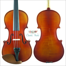 1715 Stradivarius Model Violin No.1646,Siberian Spruce,Oil Varnish,Antique Violin,Advanced Level,Powerful rich tone