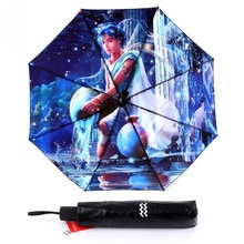 Free shipping Star Map Starry Sky Folding Umbrella Constellation Umbrella