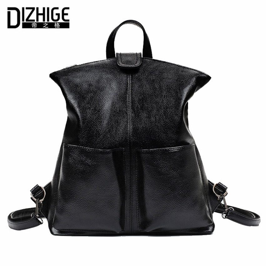 Fasion women backpack 2017 Pu leather High Quality Backpacks For Teenage Girls Famous Brands Mochilas Feminina Sac A Dos Femme<br><br>Aliexpress