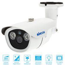 "KKmoon AHD CCTV Camera 1080P 2.0MP 3.6mm 1/3"" CMOS Waterproof Outdoor 2 Array IR LEDs Night Vision Home Security Bullet Camera(China)"