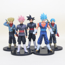 18cm Dragon ball Z DBZ DXF Super Sainyan warriors Trunks Goku Black vegetto PVC Action Figure Model Toys Dolls Vol.2