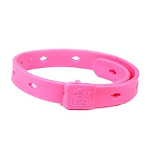Rose Pink Dog Basic Collars Cat Adjustable Quick Release Plastic Leads Pet Suppliers 2015 New