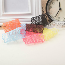 10yards/ lot 45MM Width  lace ribbon DIY decorative lace trim fabric wedding birthday Christmas decorations