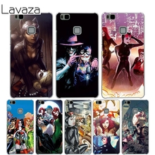 Lavaza Poison Ivy Harley Quinn Cover Case for Huawei P10 P9 Lite Plus P8 Lite P7 6 G7 Cases for Honor 8 Lite 4C 4X 7(China)