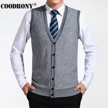 2016 New Arrival Autumn Clothing Cashmere Sweater Men Cardigan Vests Wool Vest Knitted Mens Cardigans Sleeveless Plus Size XXXXL